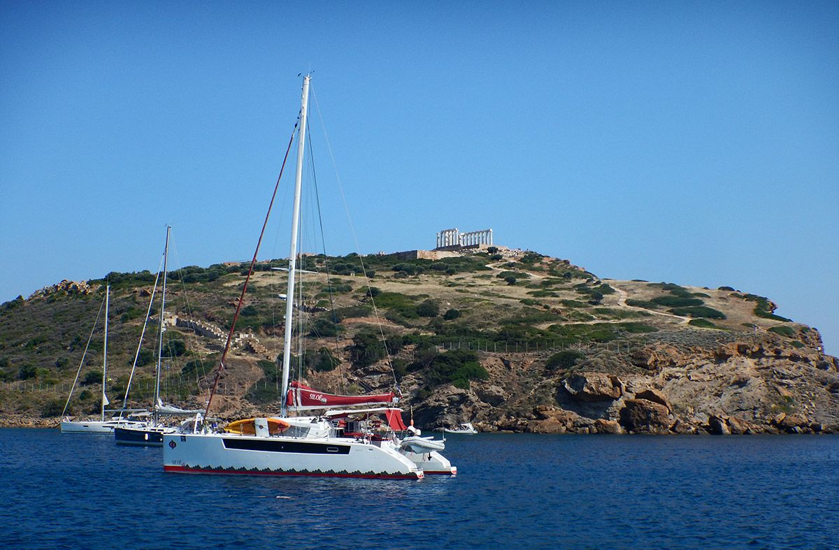 June 2018 – a day trip to cape Sounion and Patroklos island