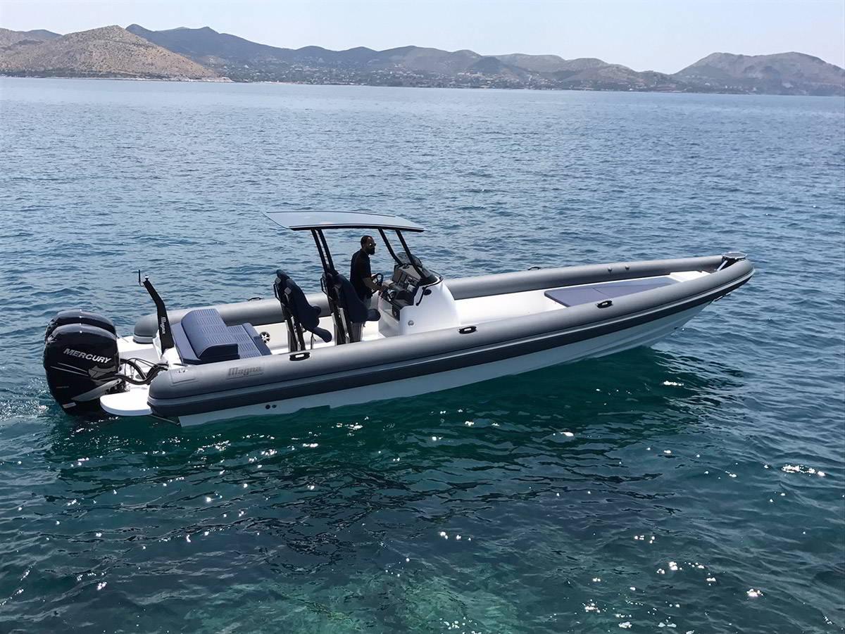 Boat Magna 32 S - Akeydor Boat Cruises