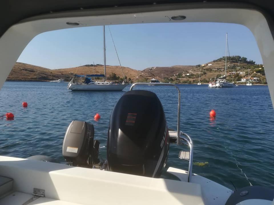 July 2018 - Weekend sail trip to Tzia