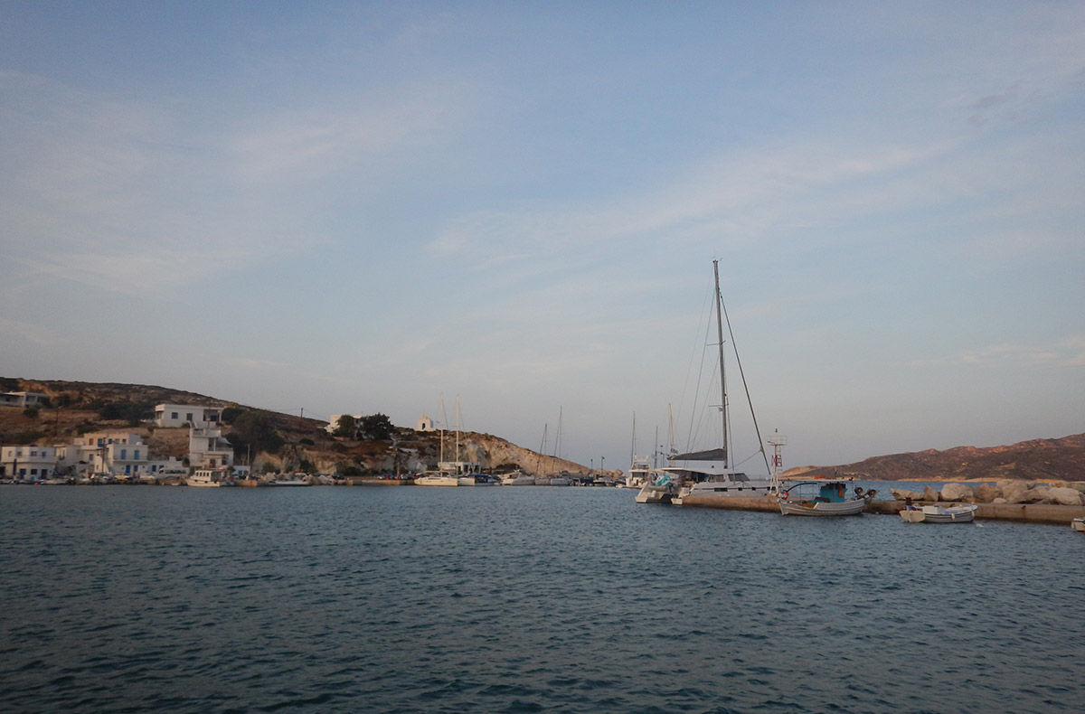 August 2018 - Boating in Cyclades - Kimolos