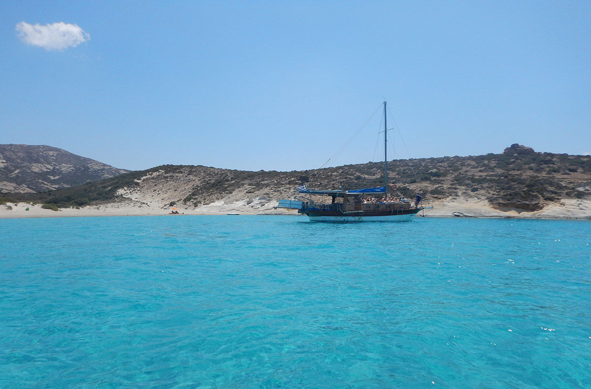August 2018 - Boating in Cyclades - Polyaigos