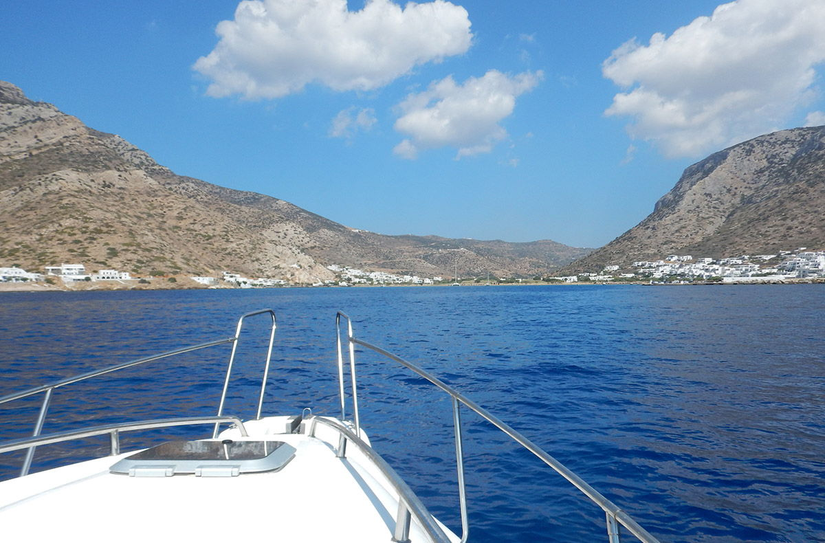 August 2018 - Boating in Cyclades - Sifnos