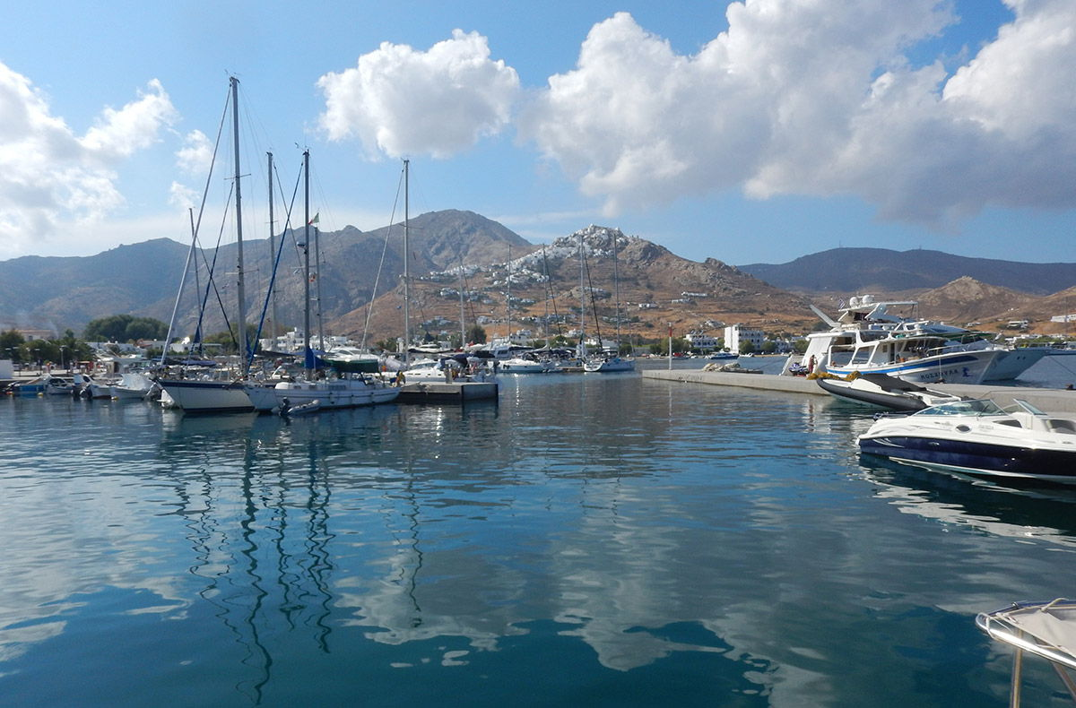 August 2018 - Boating in Cyclades - Serifos
