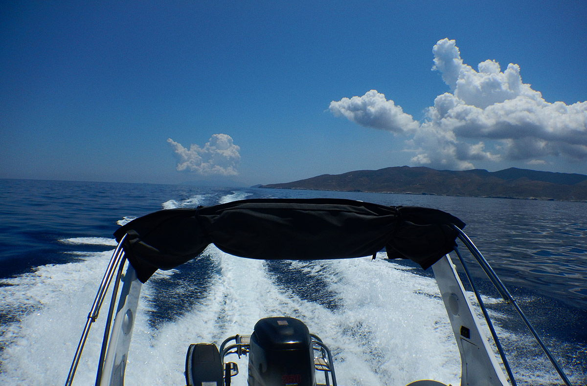 August 2018 - Boating in Cyclades - Kythnos